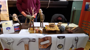 Inverurie and District Men's Shed were at the Town Hall at the Group Fest 3-Nov-2018